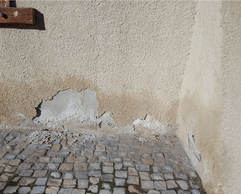 assechement des mur